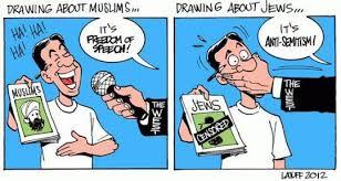 no free speech against Jews